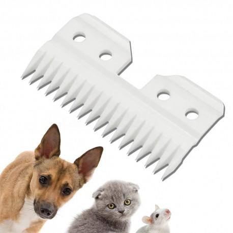 Keramikinis peiliukas, šunų kirpimo mašinėlėms.