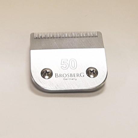 Atsarginiai Brosberg peiliukai 0,2 mm | 50 dydžio galvutė