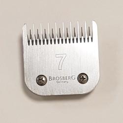 Atsarginiai Brosberg peiliukai 3,2 mm | 7 dydžio galvutė