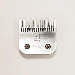 Atsarginiai Brosberg peiliukai 9,5 mm | 4 dydžio galvutė