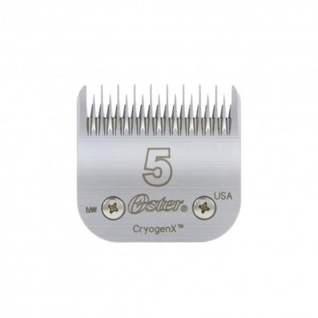 Atsarginiai OSTER peiliukai 6,3 mm | 5 dydžio galvutė